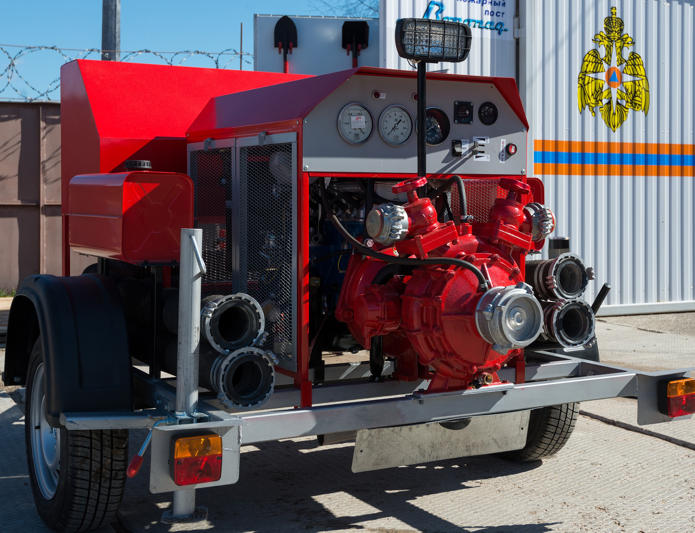 пожарная мотопомпа назначение