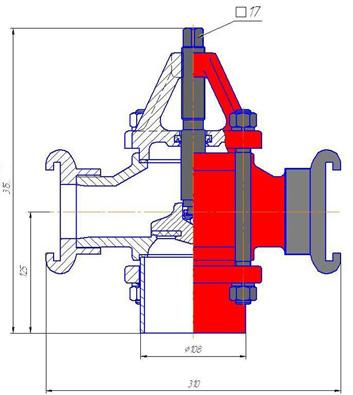 Схема строения гидранта