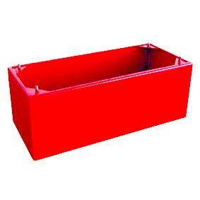 Подставка под пожарный шкаф ПРИСТИЖ-К красный