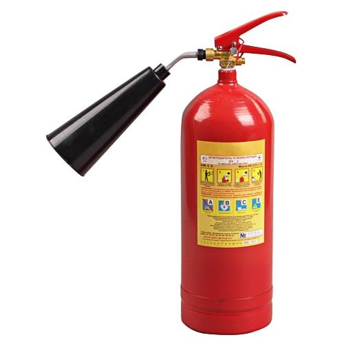 Огнетушитель углекислотный ОУ-3 (5 литров)