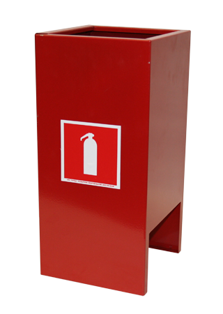 Подставки для огнетушителей п15 и п20 - напольные и настенные 96