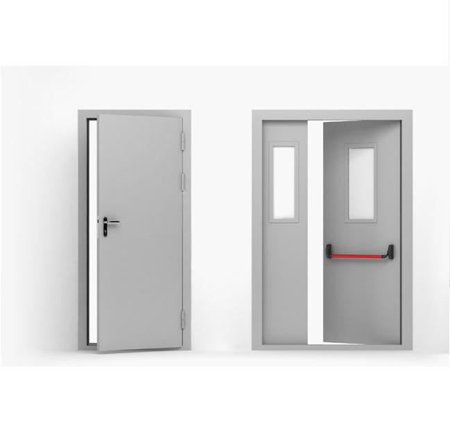 металлическая противопожарная дверь 2100х1000 мм Ei 60